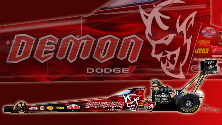 Carolina Motorsports Park >> Pritchett to honor 2018 Dodge Challenger SRT Demon with special dragster | NHRA