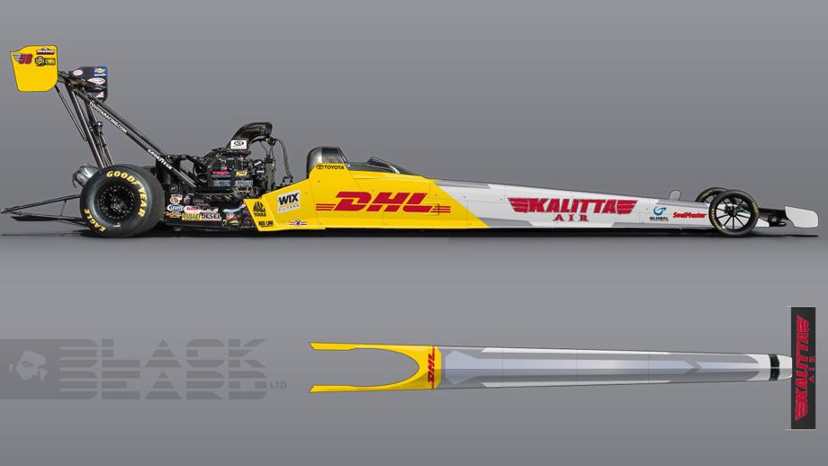 Crampton U0026 39 S Top Fuel Dragster To Highlight Kalitta Air  Dhl