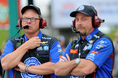 John Force Racing Heads Into 2018 Confident In Crew Chief Line Up Nhra