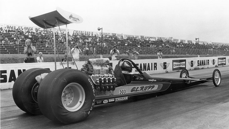 The Time Machine 1973 Nhra