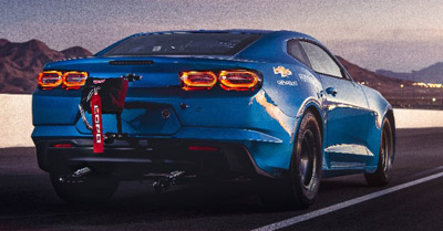 Electric Muscle: Chevy reveals 700HP Electric Camaro eCOPO