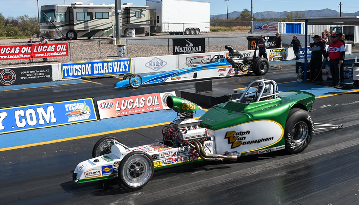 The following are Sunday's final results from the NHRA Lucas Oil Drag Racing Series, Pacific Division event at Tucson Dragway: