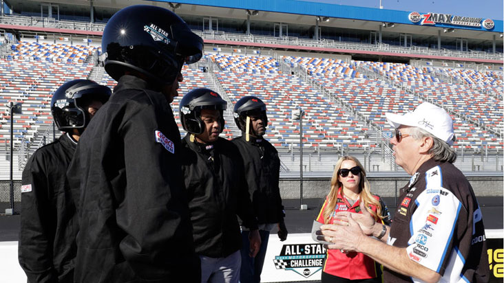 NHRA drivers helped NBA allstars put the pedal down for All