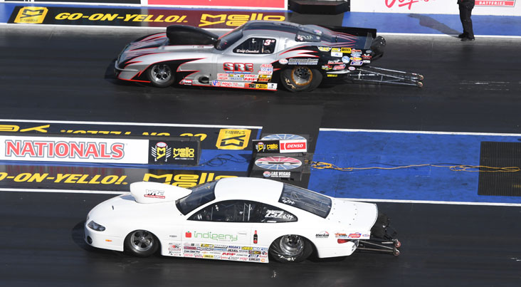 Fricke, Marshall lead Sportsman winners at NHRA Four-Wide Nationals