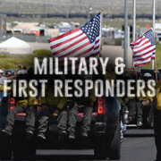 military and first responders info link