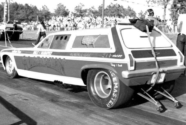 Rear-Engine Funny Cars