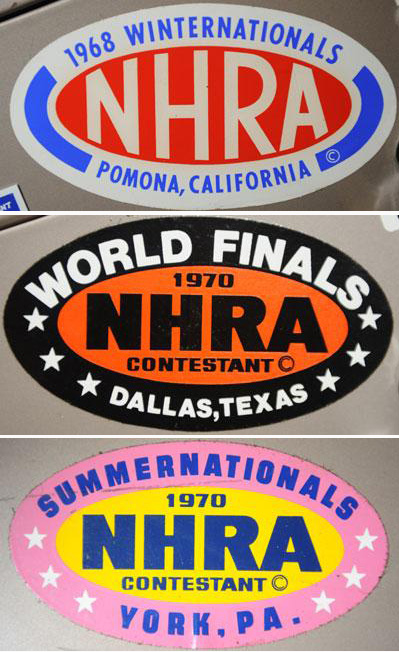 1976-78 Racers-X Decal set
