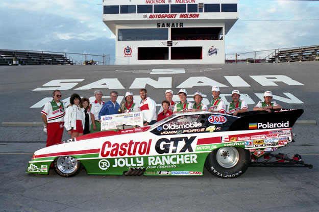 funny car drivers from the 90s