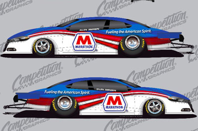 NHRA Pro Stock Racer Allen Johnson And Marathon Petroleum Corporation Have  Announced A Sponsorship Agreement That Ensures That Johnson, The 2012 NHRA  Mello ...