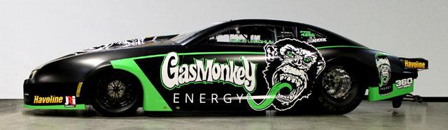 Laughlin to pilot 2016 gas monkey garage camaro nhra for Garage energy automobiles