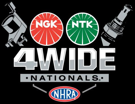NGK NTK NHRA Four-Wide Nationals