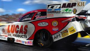 Lucas Oil car