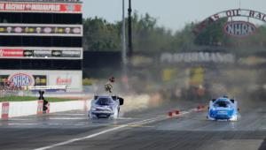 Dodge NHRA Indy Nationals banner image