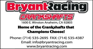 Bryant Racing Crankshafts