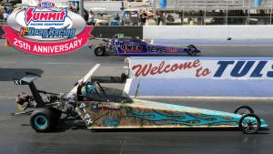Jr. Dragsters racing