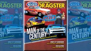 Dan Fletcher on National Dragster cover