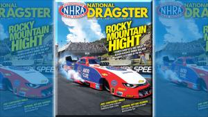 Robert Hight on National Dragster cover