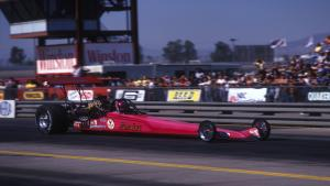 Three-time NHRA Top Fuel world champ Shirley Muldowney