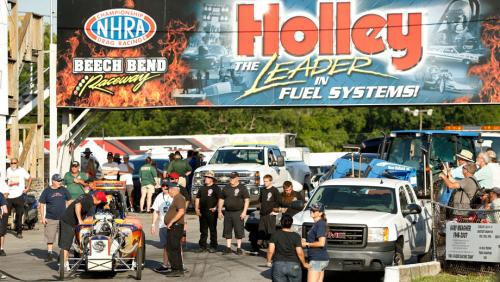Champions crowned during last day of Holley National Hot Rod