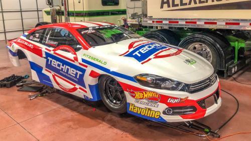 Pro Stock's Alex Laughlin puts a Dodge in his garage | NHRA