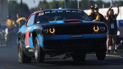 Pritchett goes wire-to-wire at Indy for first SAM Tech NHRA