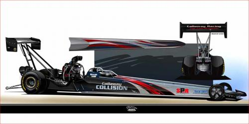 Alcohol Dragster racer Lee Callaway moving up to Top Fuel in