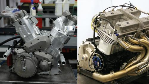 Inside a Pro Stock Motorcycle engine | NHRA
