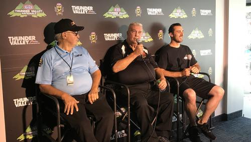 Jerry Haas, Roy Hill, Vincent Nobile