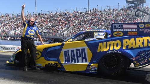 Ron Capps and the NAPA team make a change for the better | NHRA
