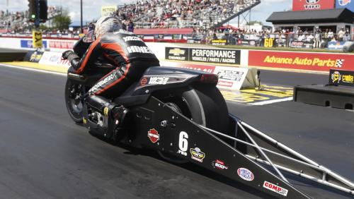 Ron Capps, Andrew Hines, Steve Torrence win at Arby's NHRA Southern