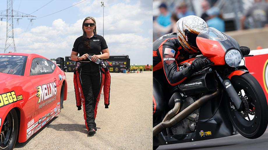 Erica Enders and Andrew Hines