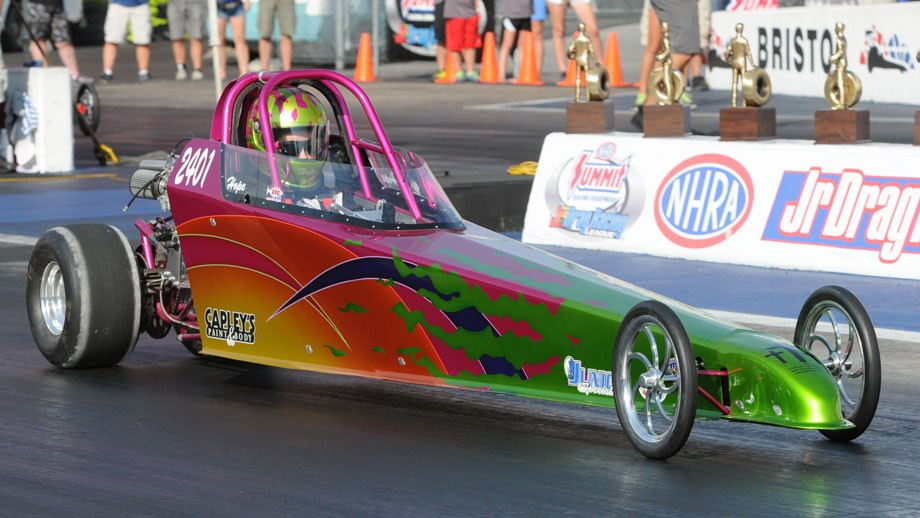 Half Scale Jr. Dragster · The Originators of the Junior Dragster