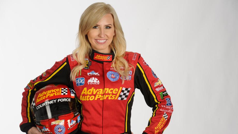 Courtney Force To Serve As Honorary Pace Car Driver For