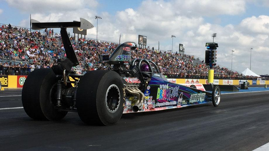 Huffman family dragster