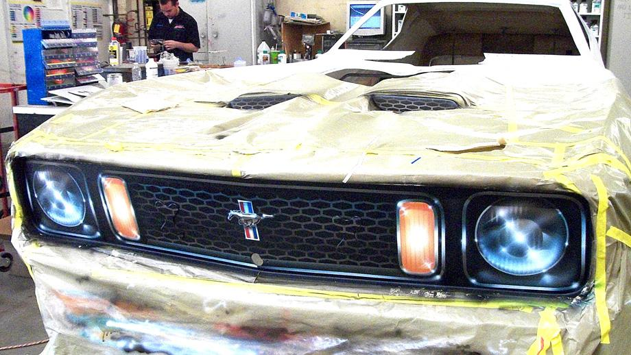 Dennis Taylor's Evil, Wicked, mean and Nasty Mustang