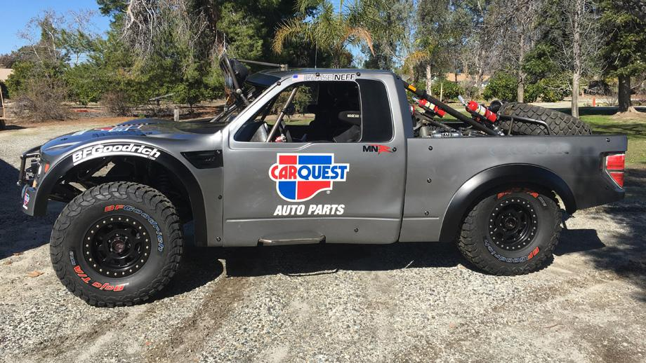 Trophy Truck For Sale >> JFR crew chief Mike Neff, son Chase to drive Carquest Trophy Truck in Mint 400 | NHRA