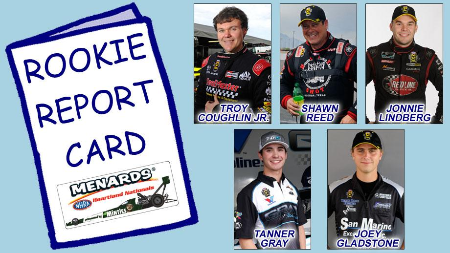 Topeka Rookie Report Card