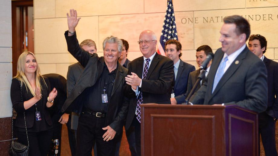 Led by NHRA Senior Vice President-Racing Operations Graham Light, NHRA was well represented at the National Motorsports Council of ACCUS. Sixteen-time NHRA champ John Force was warmly welcomed after being introduced by Congressman Richard Hudson.