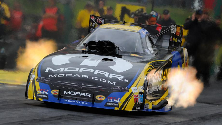 Hagan Shatters Funny Car Marks On Record Setting Day In