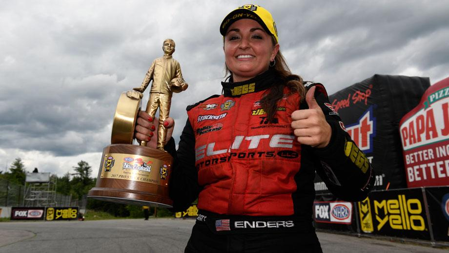 Pro Stock winner Erica Enders
