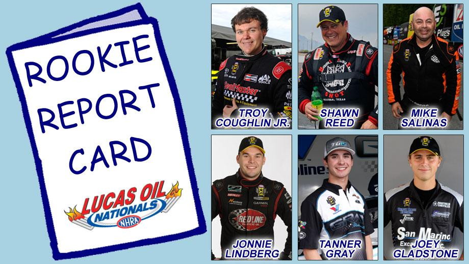 Rookie Report Card