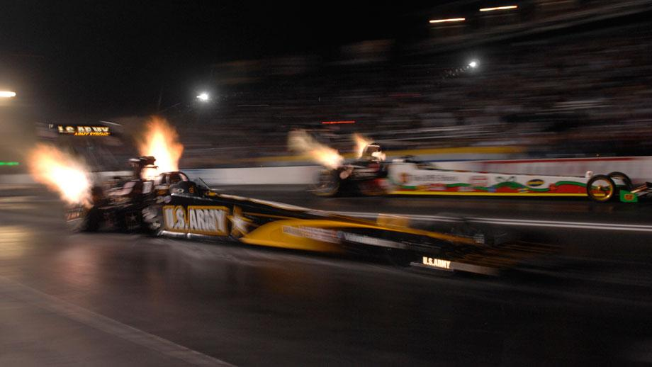 Robert Hight secures NHRA Funny Car title early at Pomona finale