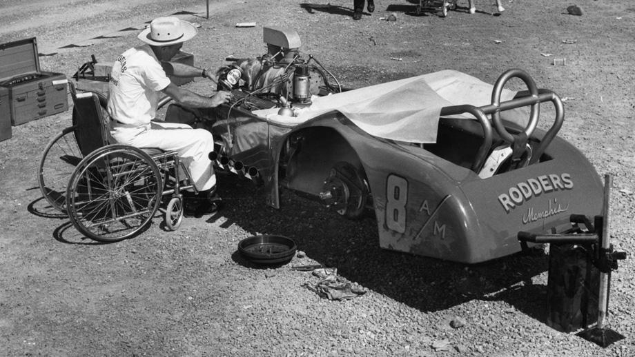 Despite being paralyzed in the Korean War, Godman was as capable a tuner as there ever was