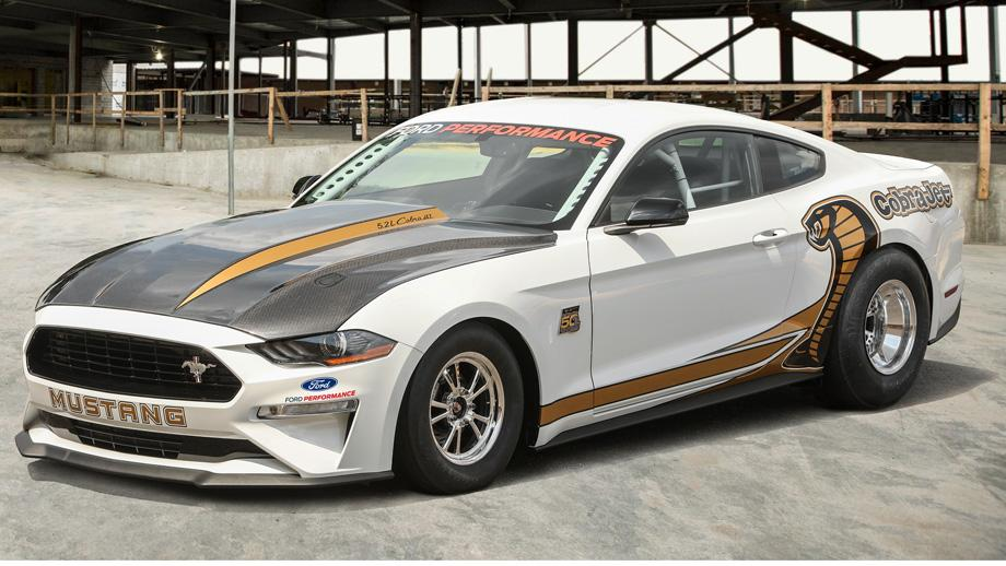 Ford's Answer to the Demon: The 8-Second 2018 Cobra Jet Mustang