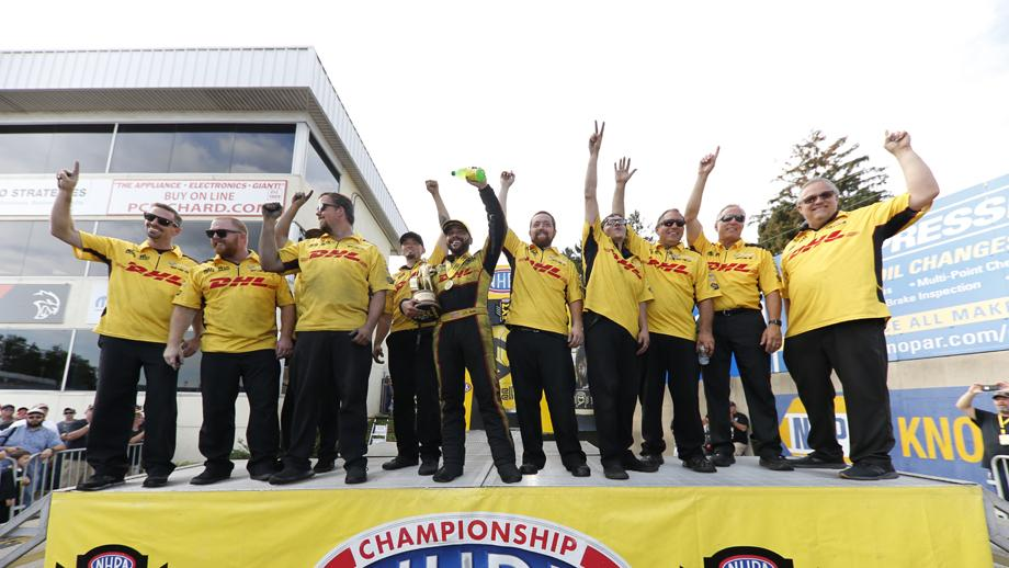 Funny Car winner J.R. Todd now has victories at back-to-back races