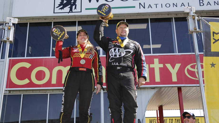 Brittany Force and Robert Hight pull off JFR nitro sweep in Houston