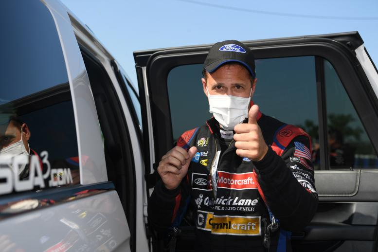 Bob Tasca III made a triumphant return to racing after recovering from COVID-19