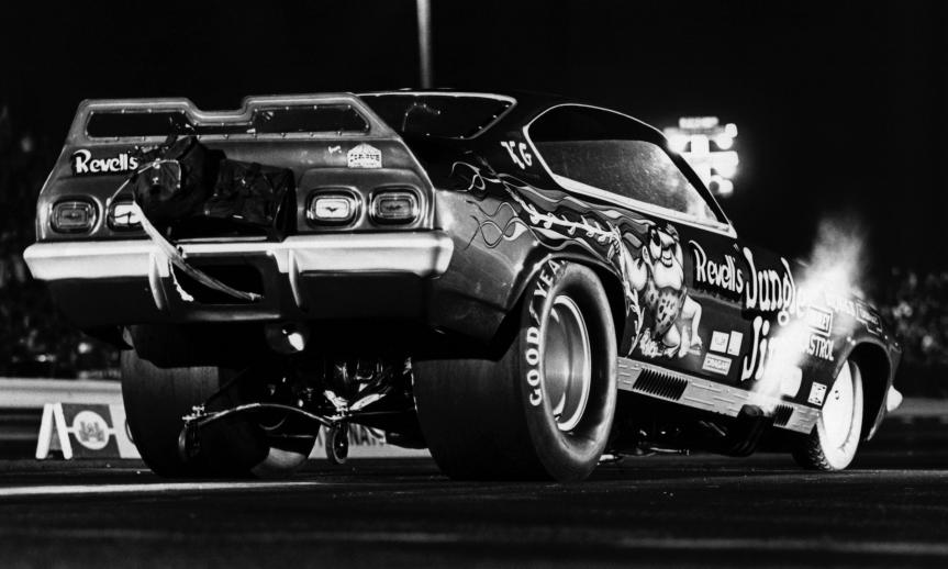 When it comes to showmen, few were better or more loved than 'Jungle Jim' Liberman, whose wild driving antics and legions of fans made him a household name among drag racing fans in the late 1960s and 1970s before his passing in a highway accident in 1977.