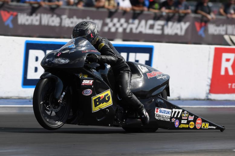 Karen Stoffer first win in four years are 2019 NHRA Midwest Nationals