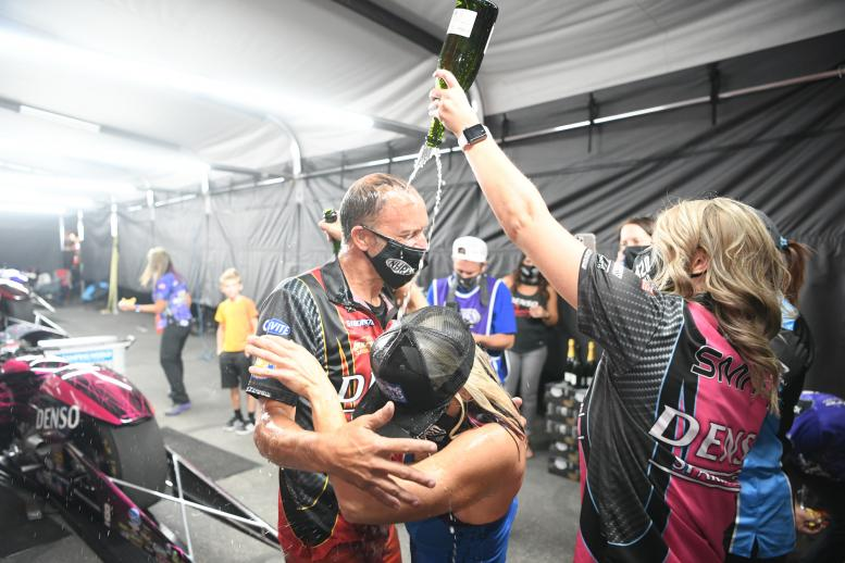 Championship celebrations